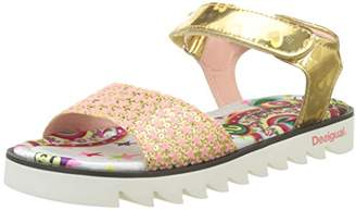 Desigual Girls' Golden Smile Heels Sandals,1 Child UK 33 EU