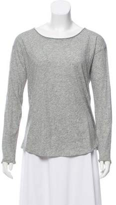 Rag & Bone Scoop Neck Long Sleeve Top
