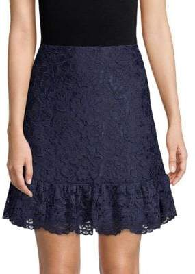 Draper James Lace Tulip Mini Skirt