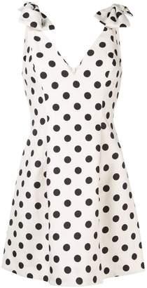 Zimmermann polka dot corsage dress