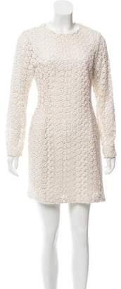 Steven Alan Guipure-Lace Mini Dress