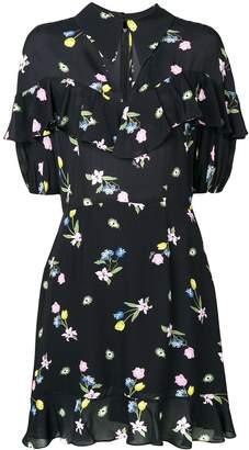 VIVETTA floral print ruffle dress