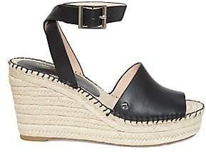 Kate Spade Women's Felipa Espadrille Wedge Leather Sandals