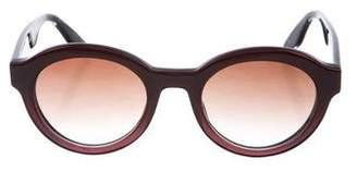 Barton Perreira Carnaby Round Sunglasses