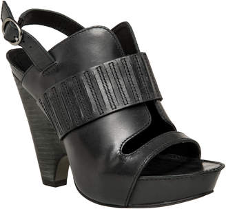 Max Studio nelson : polished calf demi wedge sandals