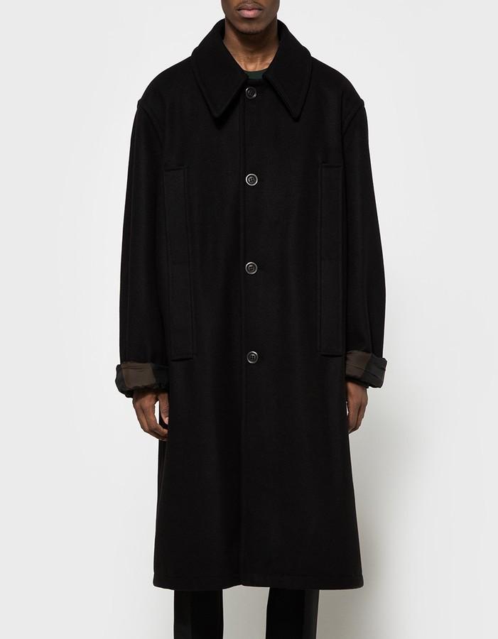 Raf SimonsBig Single Breasted Coat