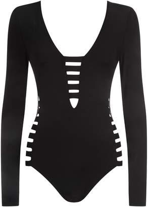 Seafolly Long-Sleeve Swimsuit