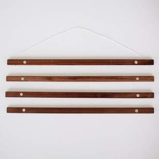 west elm Native Maps Reclaimed Wood Hanger