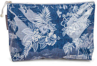A. T NEW Tradewinds Navy Cosmetic Bag Large
