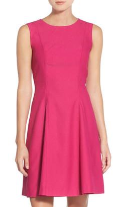 Eliza J Crepe Fit & Flare Dress (Petite) $158 thestylecure.com