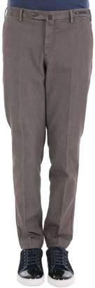 Pt01 Cotton Blend Trousers