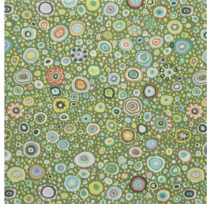 Kaleidoscope Green Napkin