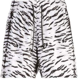 Amiri tiger print shorts
