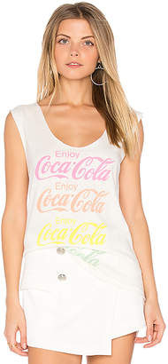Junk Food Coca Cola Tank in White $42 thestylecure.com