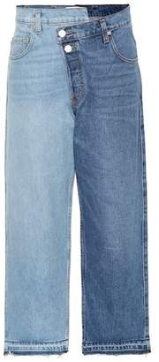 Monse Straight-leg cropped jeans