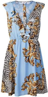 Liu Jo blue and gold dress