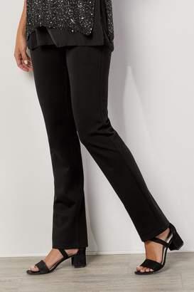Soft Surroundings Slimsations Ponte Straight Leg Pants