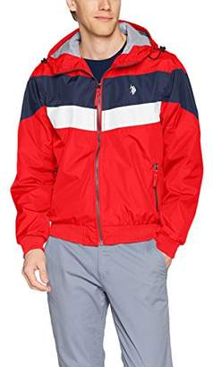 U.S. Polo Assn. Mens Standard Windbreaker