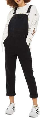 Topshop Slim Leg Overalls