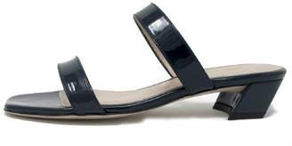 Stuart Weitzman Navy Patent Sandal