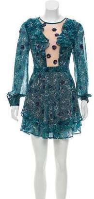 For Love & Lemons Agnes Long Sleeve Dress w/ Tags