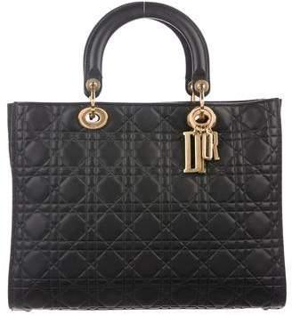 64401e2ce1603 Christian Dior 2017 Large Lady Bag