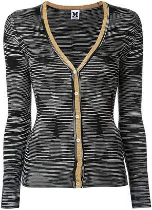 M Missoni illusion print cardigan
