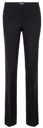 HUGO BOSS Regular-fit formal trousers in stretch wool