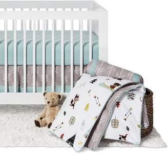 JoJo Designs Sweet Outdoor Adventure 11pc Crib Bedding Set - Gray