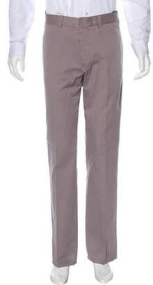 Helmut Lang Twill Flat Front Pants