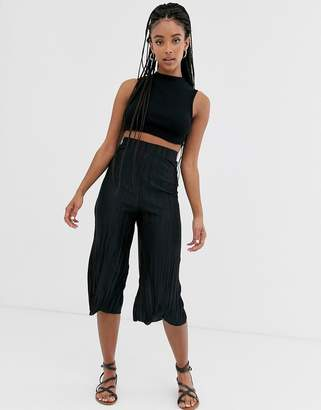 Love wide leg paper bag waist pants