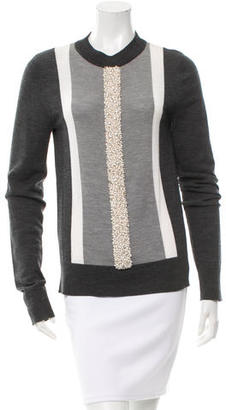 Vera Wang Embellished Wool Sweaters $130 thestylecure.com