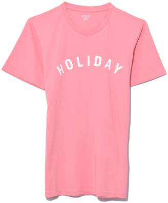 Holiday Logo T-Shirt in Pink