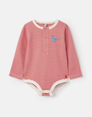 Joules Snazzy Luxe Embroidered Bodysuit
