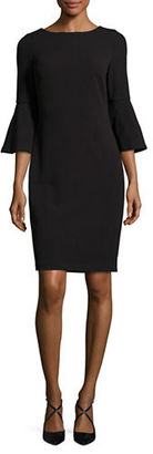Calvin Klein Bell-Sleeve Sheath Dress $109 thestylecure.com