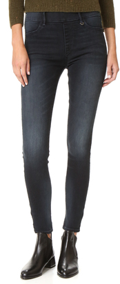 True Religion The Runway Straight Leggings $159 thestylecure.com
