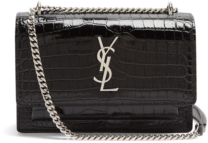 SAINT LAURENT Sunset leather cross-body bag