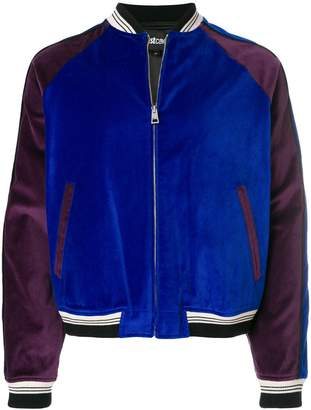 Just Cavalli shooting star bomber jacket