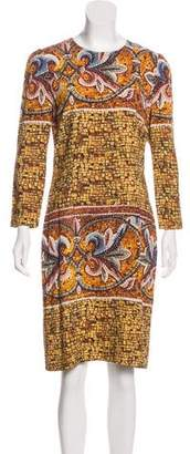 Dolce & Gabbana Mosaic Print Dress