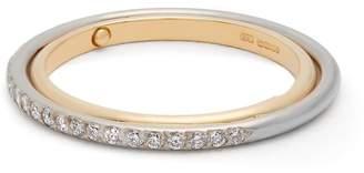 Charlotte Chesnais FINE JEWELLERY Elipse diamond & gold ring