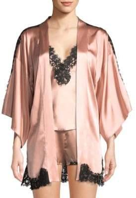 Fleur Du Mal X Kilian Scented Lace Kimono Cardigan