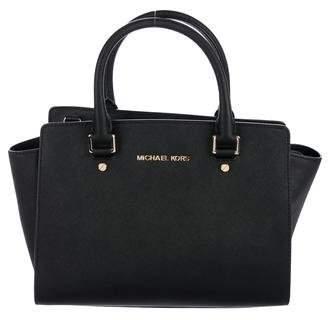 MICHAEL Michael Kors Leather Satchel Bag