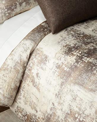 Fino Lino Linen & Lace Amazonia King Duvet Cover