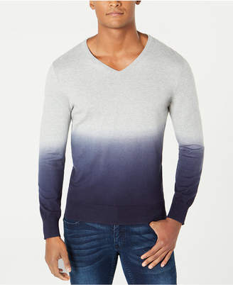 INC International Concepts I.N.C. Men's New Playlist Dip Dye Sweater, Created for Macy's
