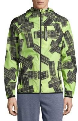 Lacoste Lightweight Printed Sport Jacket