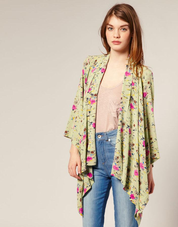 ASOS Floral Printed Kimono
