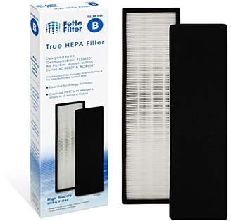 Germ Guardian Fette Filter True HEPA Filter Compatible GermGuardian FLT4825 Models AC4300/AC4800/4900 Series Air Purifiers - Filter B. (HEPA & Pre-Filter)