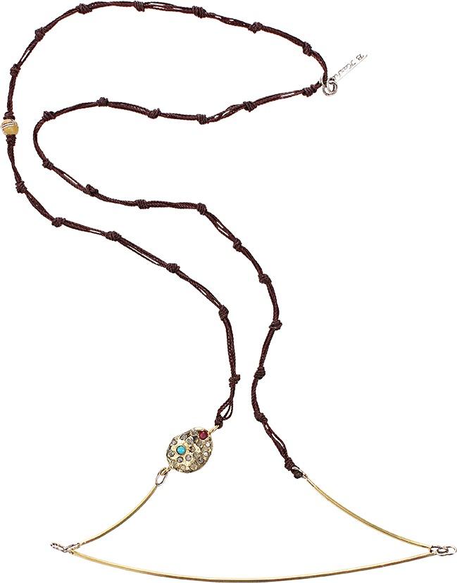 BOAZ KASHI Turquoise Sapphire Kiyojo Necklace