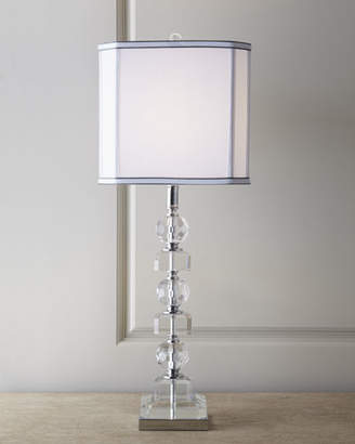 Vince Stacked Crystals Table Lamp