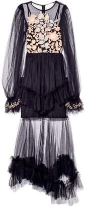 Alice McCall Beyond Dress in Black Cherry